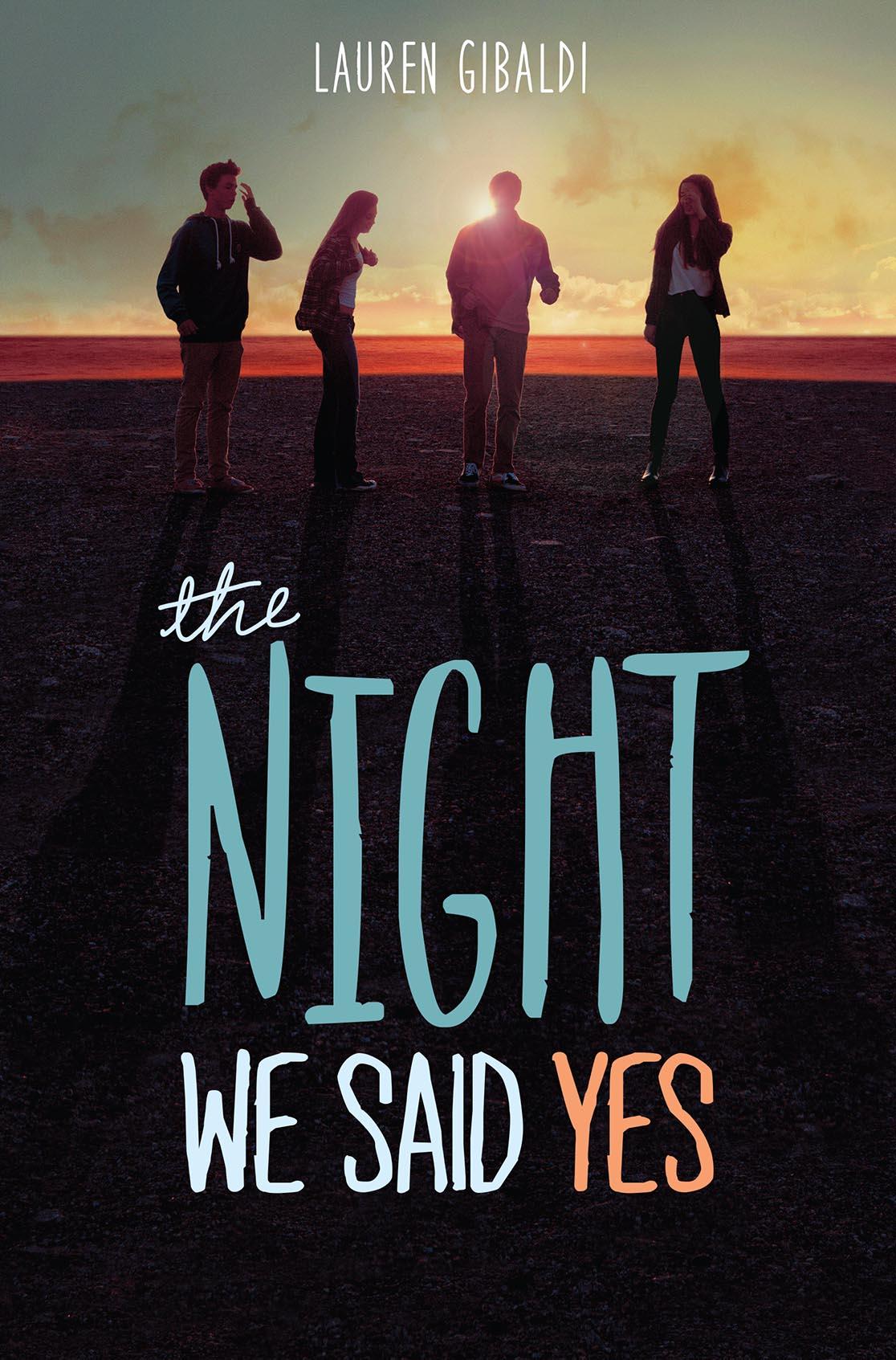 Resultado de imagen de The night we said yes - Lauren Gibaldi
